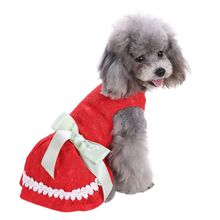 Cat Puppy Summer Party Dress Clothing Costume Pet Dog Tutu Lace Bow Striped Skirt Dresses Z