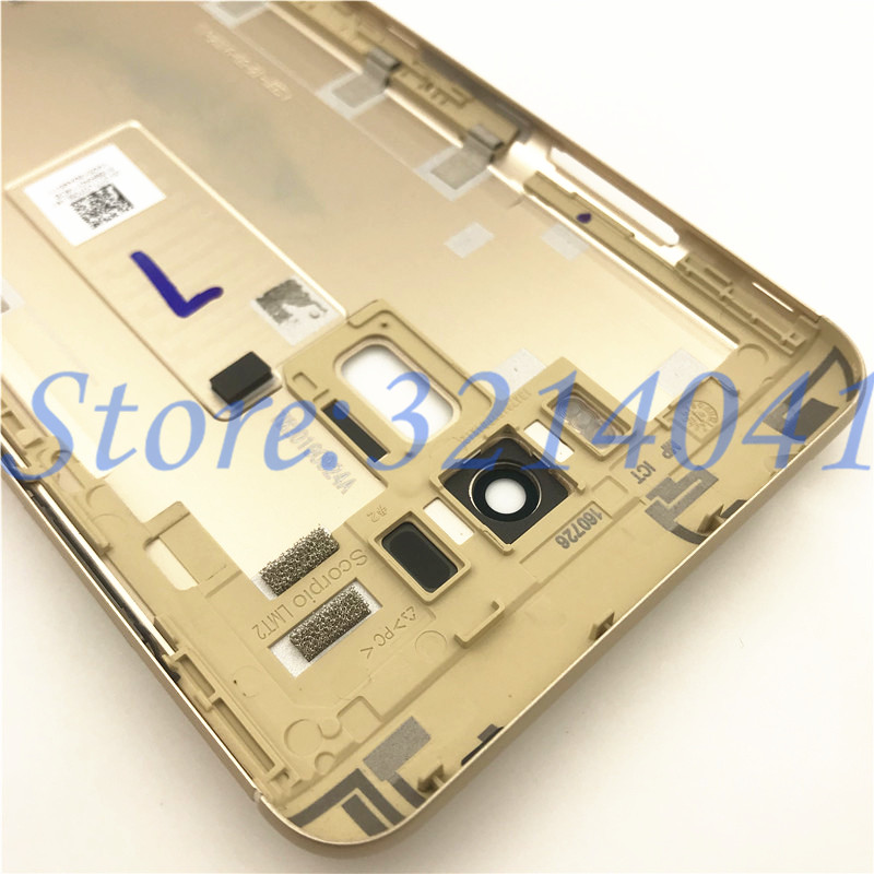 Image 4 - 10Pcs/Lot 5.5 inches Battery Door Back Cover Housing Case For ASUS Zenfone 3 Laser ZC551KL With Camera Lens+Power Volume Buttons-in Mobile Phone Housings & Frames from Cellphones & Telecommunications