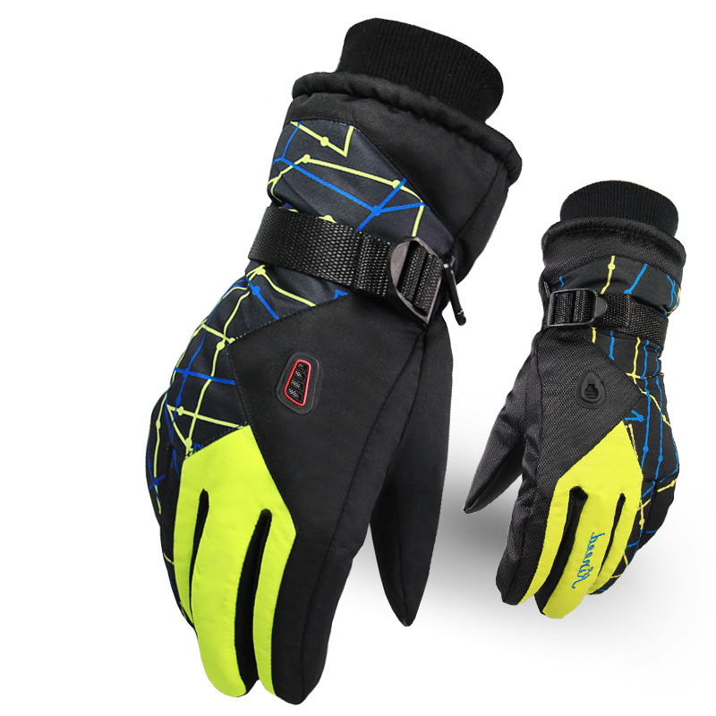 Winter Ski Gloves Waterproof Motorcycle Snowboard Gloves Windproof Outdoor Sport Keep Warm Snow Skiing Glove Fleece Guantes