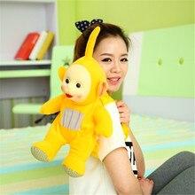 1Pcs 45cm Teletubbies schoolbag Baby toys plush Dolls 3D bag toy for Kids Christmas gifts kidz Children gift TV Doll