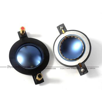 Wysokiej jakości marki dla 1 75 #8222 niebieski tytanu głośnik czysta płaskim Aluminium drut płaski niebieski 8 Ohm tanie i dobre opinie PowerProaudio Wired PA Speakers None