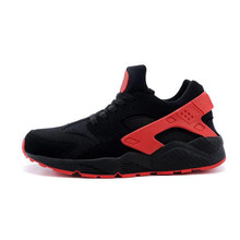 2019 Hot Sale Running Shoes Air Mesh Sneakers Designer Breathable Massage Outdoor Jogging Sport Red High Quality for Men