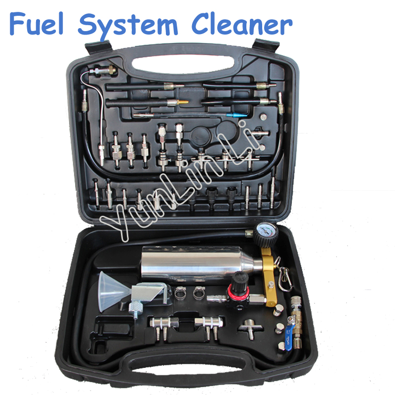 Fuel System Cleaning Tools Automotive Fuel Nozzle No Disassembly Cleaning Bottle Washing Machine RTK013 2 pieces lot 500ml monteggia gas washing bottle porous tube lab glass gas washing bottle muencks