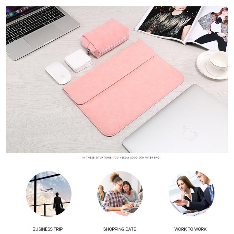 (heiße Produkte) Für Apple/dell/lenovo Laptop Tasche Ultra-dünne Matte Computer Tasche Neue Macbook Tasche + Power Tasche Der Preis Bleibt Stabil