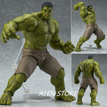 ALEN Anime Avengers Incredible Hulk Figma 271# Iron Man Hulk Buster Action Figure Age Of Ultron Hulkbuster 16CM PVC Toy