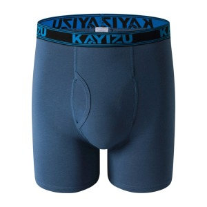 Image 3 - KAYIZU 3 Pieces Men Underwears Solid Cotton Boxers Plus Size Men Underwear Comfortable Boxer Shorts Male Panties Underpants
