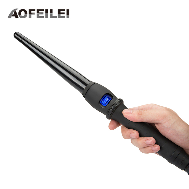 Ceramic Styling Tools professional Hair Curling Iron Hair waver Pear Flower Cone Electric Hair Curler Roller
