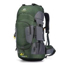 60L Outdoor Nylon camping backpack Hiking Climbing Bag Superlight Sport Travel Package Brand Knapsack Rucksack Shoulder bags 18