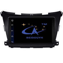 BEIDOUYH Android 10.2 inch Car GPS navigation for Nissan Murano 2015-2016 OBD/SWC/mirror link/can-bus/DVR car radio multimedia