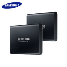 Samsung Exterior SSD T5 250GB 500GB 1T 2T Exterior Stable State HD Laborious Drive USB three.1 Gen2 (10gbps) and backward appropriate Cellphone