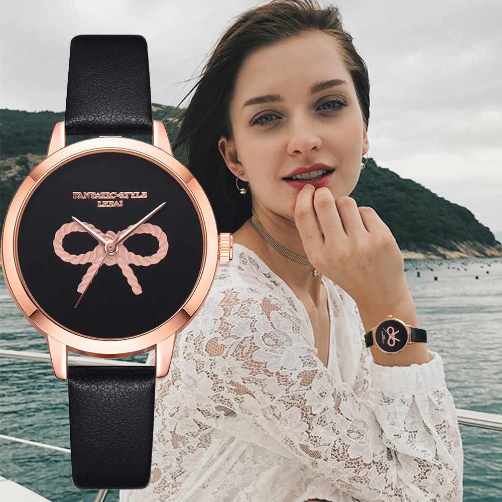 Nuevo Reloj de moda para Mujer Lvpai 3D en relieve Casual de cuarzo Reloj de pulsera Reloj Mujer 2019 de lujo para Mujer Casual * E