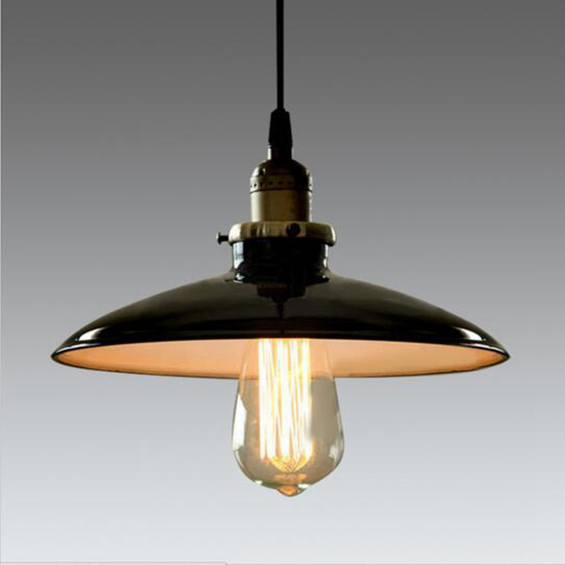 LuKLoy Pendant Lights Lamp, Vintage Industrial Retro