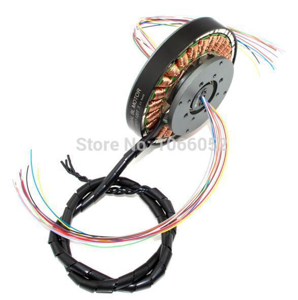 iPower Gimbal Brushless Motor GBM8017-120T w/Slipring for red epic/black magic ...