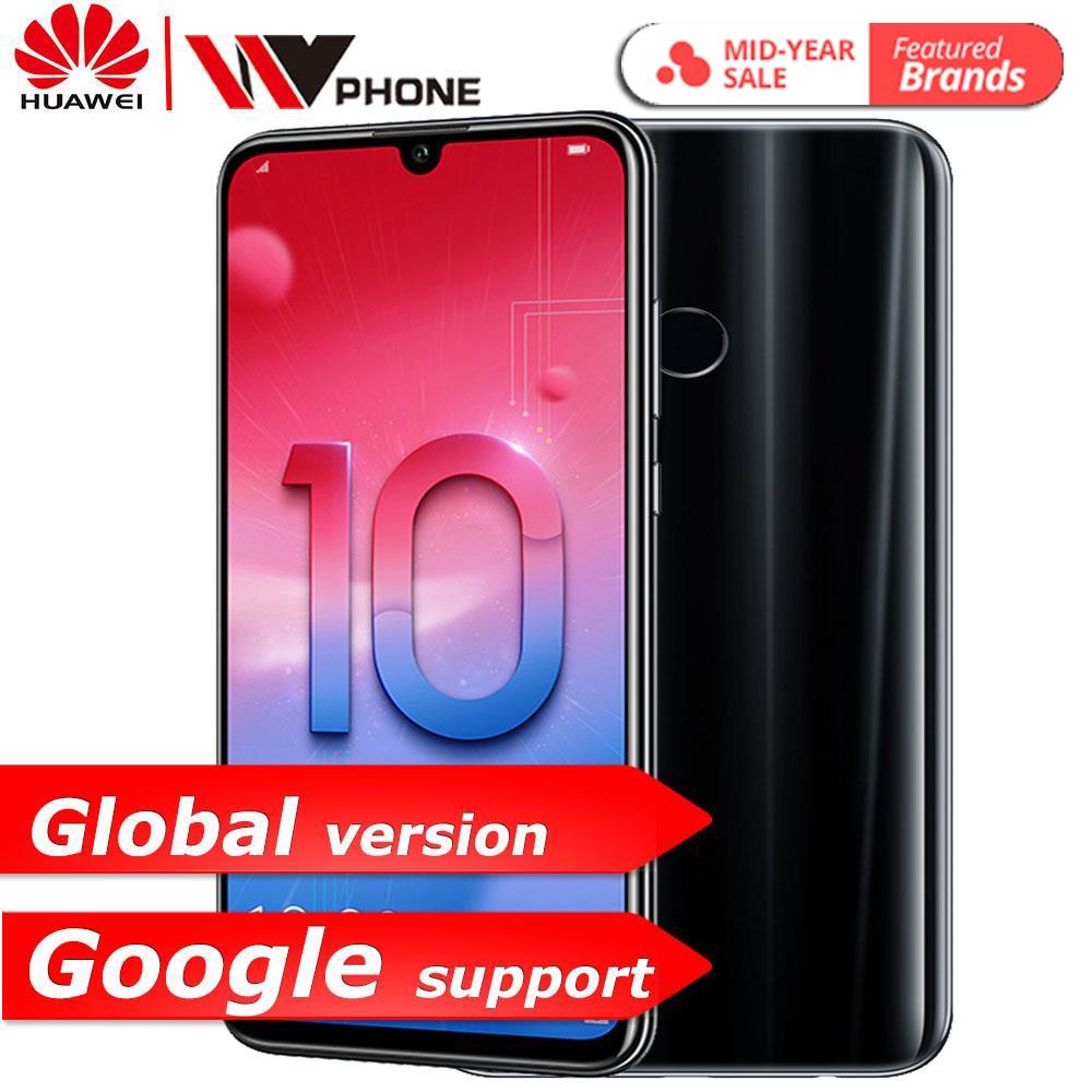 Huawe honour 10 Lite honour 10 téléphone intelligent 6.21 pouces 2340*1080 Octa Core téléphone portable 3 caméras empreinte digitale