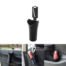 Universal Black Car Multifunction Umbrella Holder Box, Trash Bin