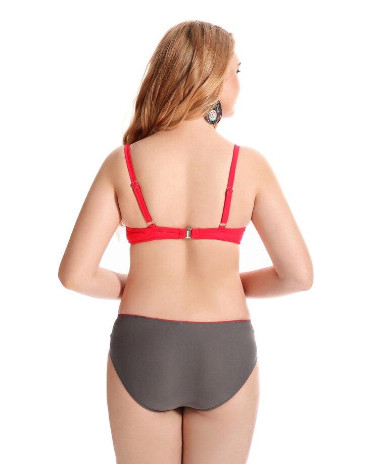 203fbb52a0306 2017 Sexy Bikini Push Up Swimwear Plus Size Bikinis Set Swimsuit Ladies Big  Breasts Biquini Femme Beach Wear Women Bathing Suit-in Bikinis Set from  Sports ...