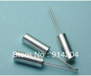 20PCS/LOT 32K <font><b>32KHz</b></font> crystal 3 * 8mm JU-308 cylindrical image