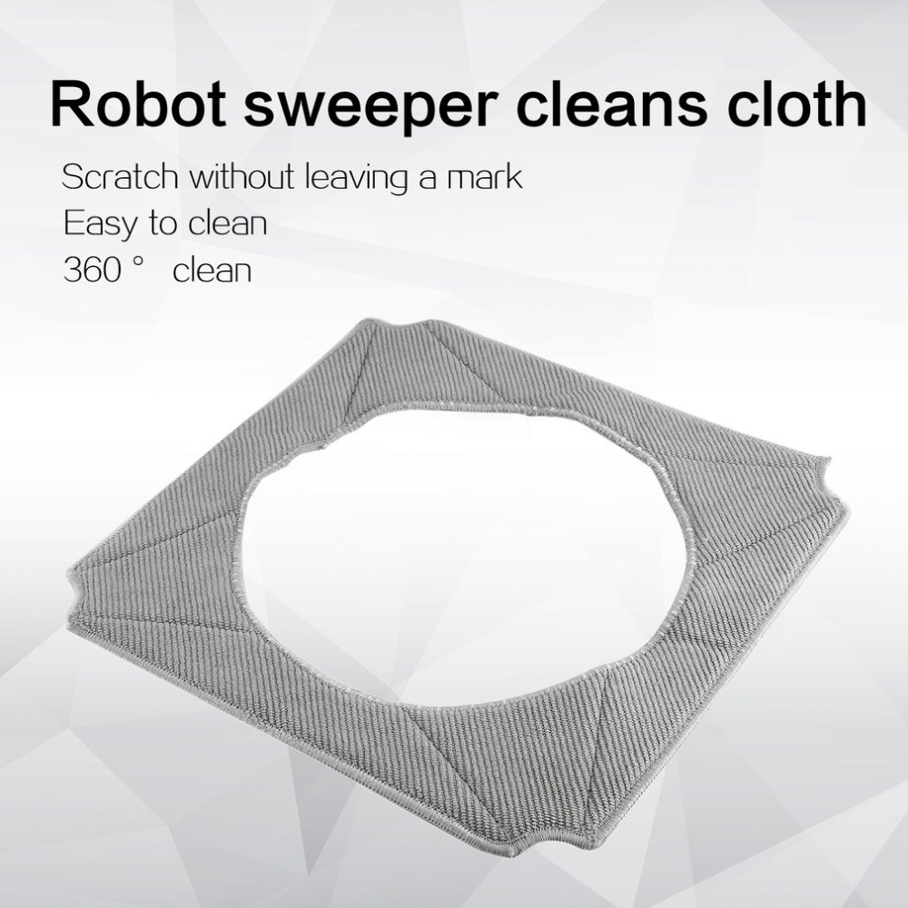 Мочалки Для ECOVACS WINBOT W950-SW очистки шторная ткань площадку для окна робот-Швабра для уборки дома чистки