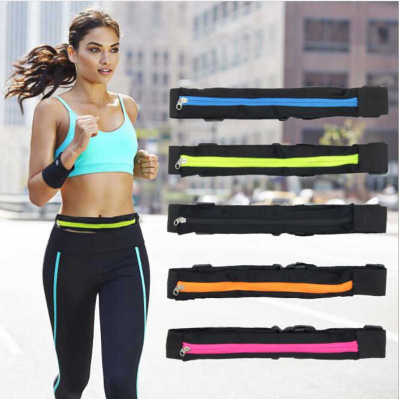 Waist Bags For Running Sports Bag Pocket Jogging Portable Waterproof Cycling Bum Bag Outdoor Phone anti-theft Pack Belt Bags