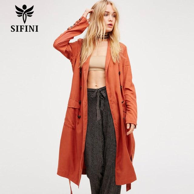 2017 бесплатная доставка женская clothing длинную траншею людей горячие продажа мода ветровка пальто сексуальный стиль длинное пальто