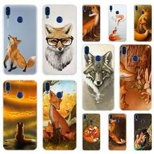 ¡Sr! Funda de TPU suave para Huawei, forro Fox Z3j para Honor 30 20 10 9 Lite 9a 8a 7a Pro 10X 10i 30s 20lite 10lite