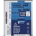 2100 mah original calidad nohon batería eb-l1g6llu para samsung galaxy s3 i9300 i9305 i535 t999 l710 batería de alta calidad