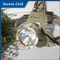 High Powerful CREE XML T6 LED Camouflage Headlamp Headlight Head Torch Camping Lamp Light LED Head Flashlight for Hiking