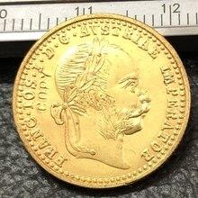 1915 Австрия-хабсбург 1 Дукат-Франц-Джозеф I Золото Имитация монеты