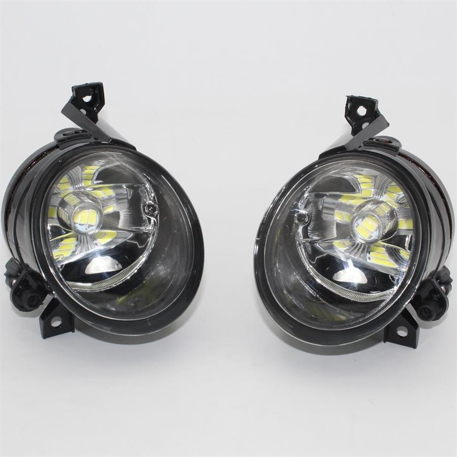 Car LED Light For VW Tiguan 2007 2008 2009 2010 2011 Car-Styling Front LED Fog Light Fog Lamp Assembly 12v 55w car fog light assembly for ford focus hatchback 2009 2010 2011 front fog light lamp with harness relay fog light