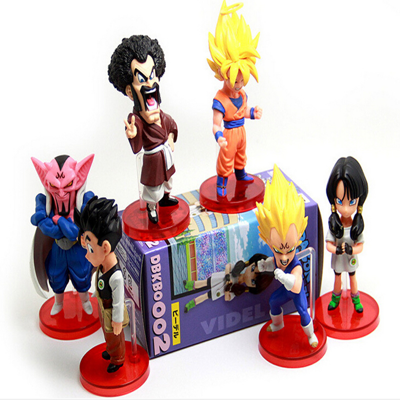 Toys & Hobbies Hard-Working New Dragonball Z Dragon Ball Dbz Anime Goku Vegeta Piccolo Gohan Super Saiyan Joint Movable Action Figure Toy 6 Pcs Set Y6336 In Many Styles