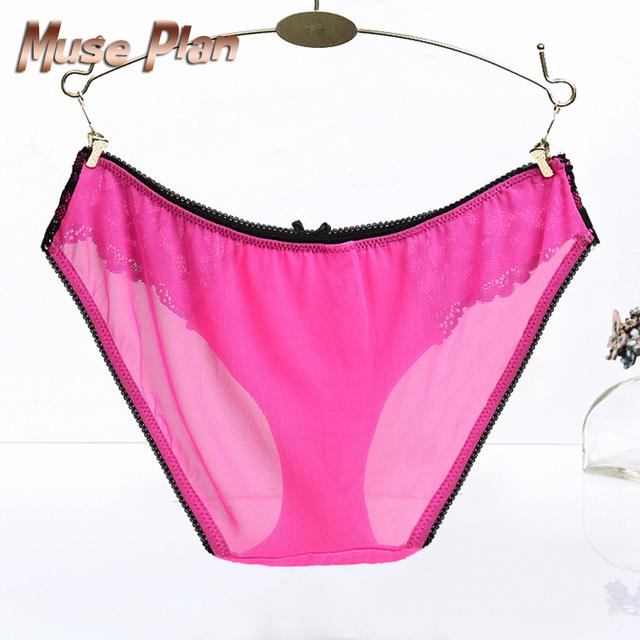 Seamless cotton breathable underwear Hollow briefs