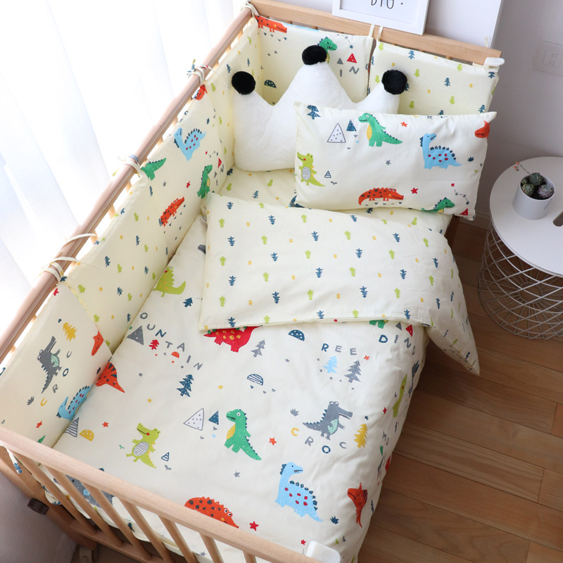 Baby Bedding Set Nordic Cotton Woven Baby Bed Linen For Newborns Kids Crib Bedding For Boy Girl Provide Personal Custom Make