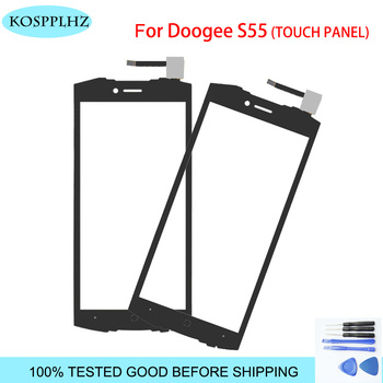 DOOGEE S55 Touch Screen Glass 100% Guarantee New Glass Panel Touch Screen For DOOGEE S 55 lite + tools