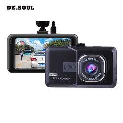 Широкоугольный Автомобильный видеорегистратор PARASOLANT 120 Full HD 1080 P, видеорегистратор с петлей на английском/русском языке, прозрачная Автомоб...