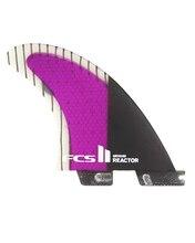 FCS II Reactor PC Carbon Tri Fin Set Size Large