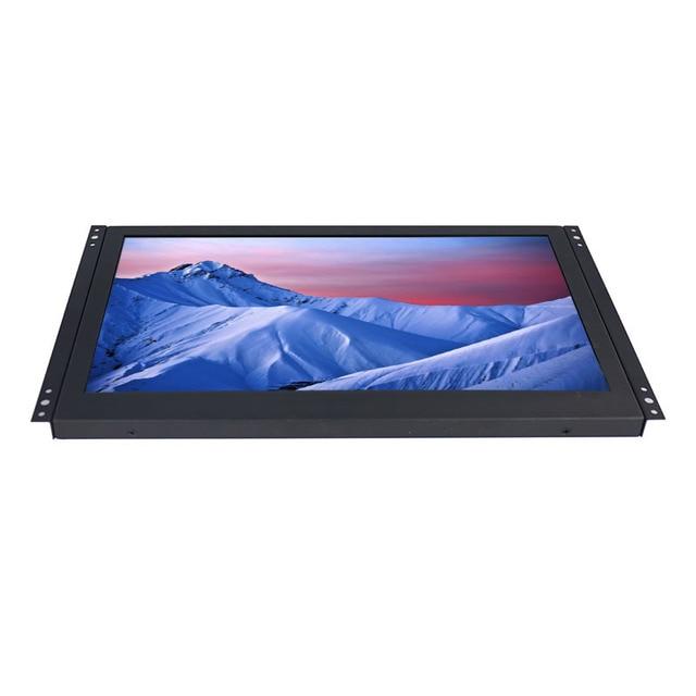Monitor de Marco abierto de 14 14,1 pulgadas 169 monitor lcd IPS de alta resolución 1920*1080 con interfaz AV/BNC/VGA/HDMI/USB
