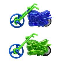 Baby Kids DIY Mini Motorcycle Model Building Children Puzzle Assembly Toy Cool Simple Children Motorcycle for Doll House or Gift(China)