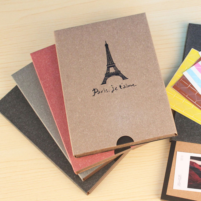 Wedding Gifts For Relatives: 7inch Vintage Scrapbook Album For Family Craft Paper Album