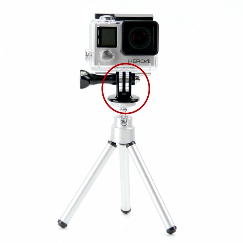 SnowHu for GoPro Accessories Mini  Monopod Tripod Holder Case Mount Adapter for Go Pro Hero 9 8 7 6 5 4 Xiaomi yi Camera GP03-5