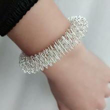 10PCS/LOT Acupuncture Wrist Ring Acupressure Massage Bracele