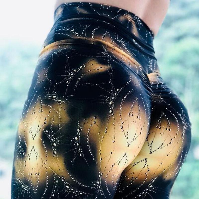 2018 hohe Taille Fitness Mädchen Leggings Frauen Nicht Transparent Fitness Dünne Jeggings Sporting Hosen Elastische Leggins Drop Schiff
