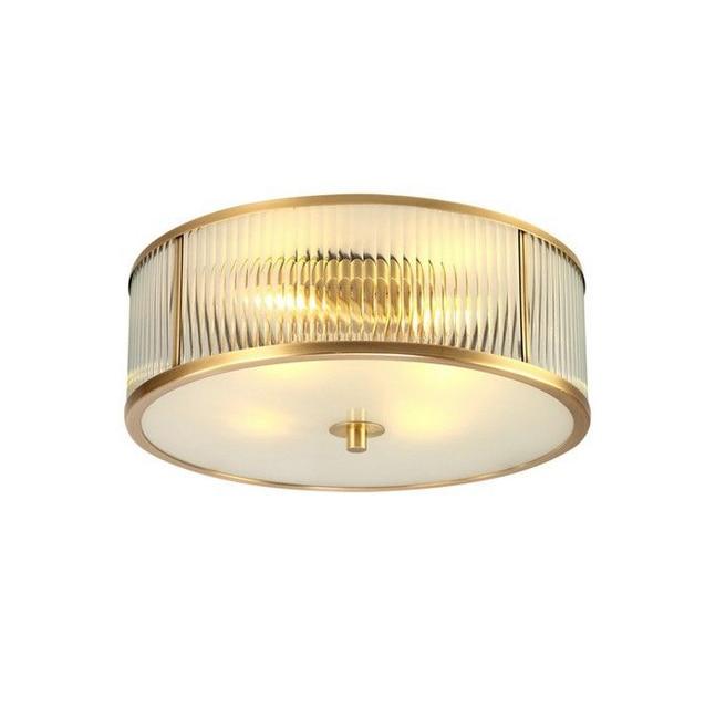 Messing Vintage FUHRTE Moderne Deckenleuchte 5 Watt Led Lampe Toolery Hause Beleuchtung Wohnzimmer Lustre Unterputz