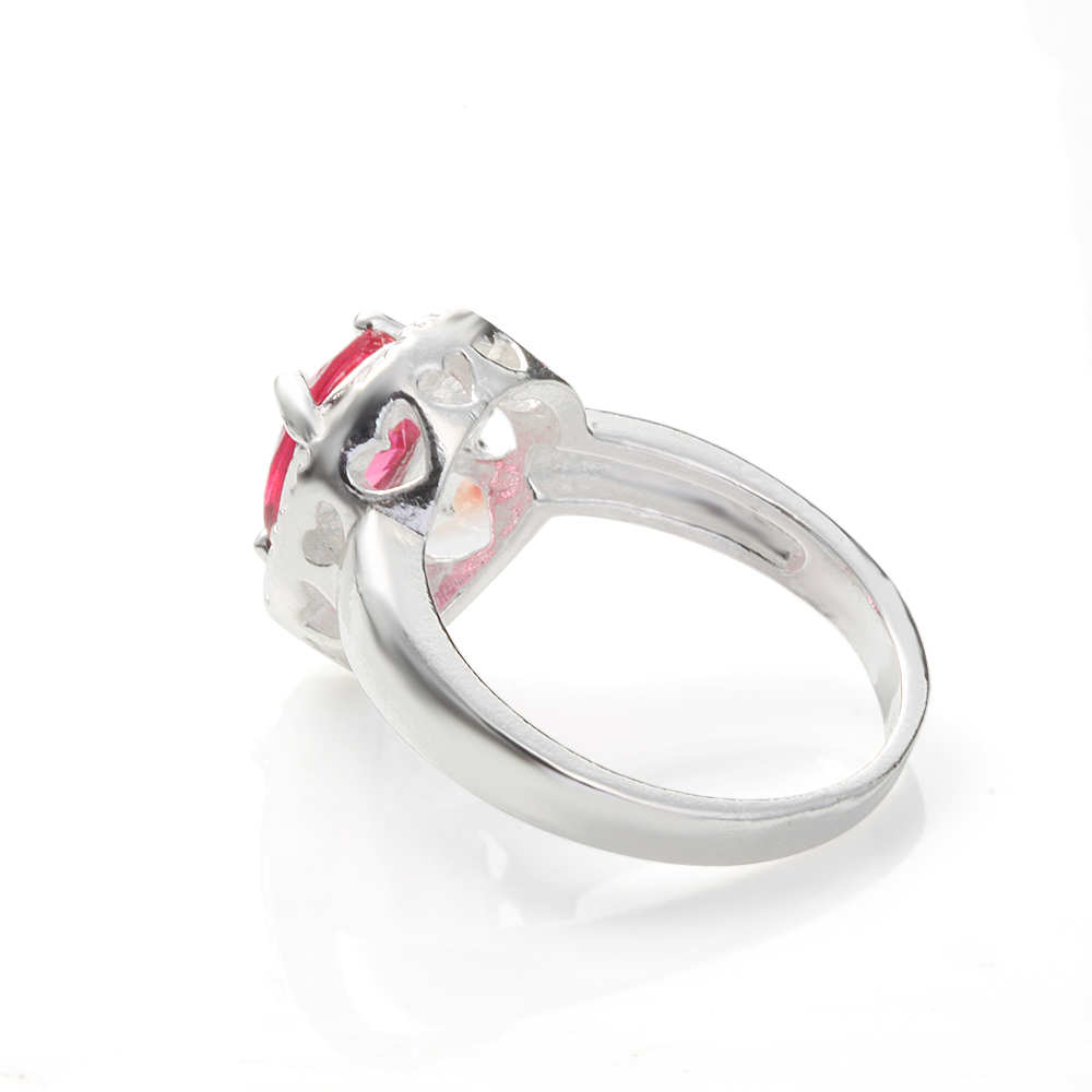 cheap hot love silver color rings for engagement lovers gift jewelry fashion Promise rings us size 7 8 9 women finger ring