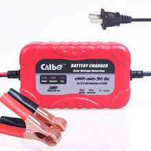 CATBO 2Amp Smart Battery Charger Maintainer,with 6V&12V Charging Selectivity&Smart Charging Technology,Sealed Lead Acid Battery