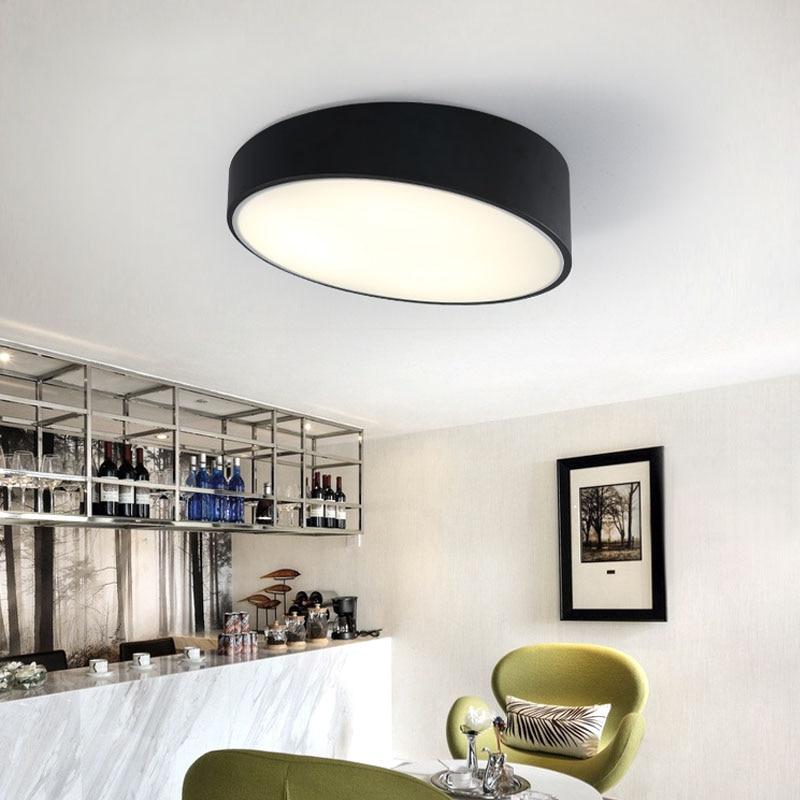 Creative Cylinder Ceiling Light Lamparas De Techo Plafoniere Lampara Techo Salon Bedroom Light For Home Led Ceiling Lamp Ceiling Lights & Fans