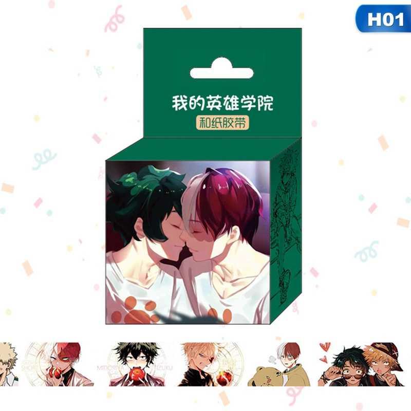 15Mm * 5M Japanse Anime Cartoon Washi Tape Plakband Diy Scrapbooking Sticker Label Afplakband