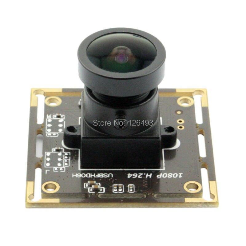 2.0 Mégapixels 1080 p Grand Angle 150 degré Sony IMX322 UVC Faible Luminosité Industrielle USB caméra Web Conseil