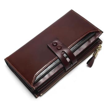 Women's Genuine Leather Clutch Wallet Bags and Wallets Women's Wallets Color: Coffee