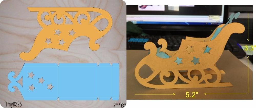 Skis DIY media casa de madera troquel/molde de álbum de recortes/herramienta de corte troquel/Tmy9325-in Troqueles from Hogar y Mascotas    1