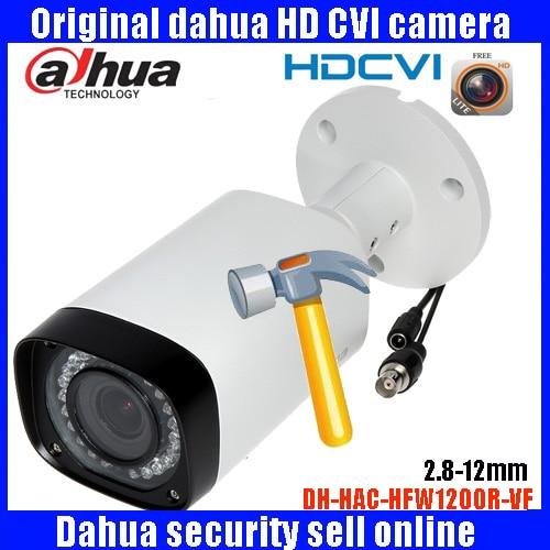 HD1080p Dahua HDCVI Camera 2MP DHI-HAC-HFW1200R-VF bullet  Security Camera CCTV IR distance 30m HAC-HFW1200R-VF dahua hdcvi 1080p bullet camera 1 2 72mp 1080p ir 80m ip67 hac hfw1200d security camera dhi hac hfw1200 bullet cvi camera